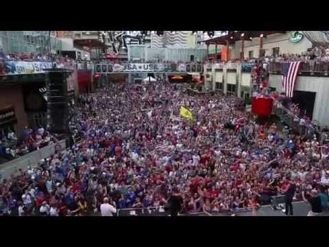 #USWNT World Cup Watch Party at Kansas City Live!