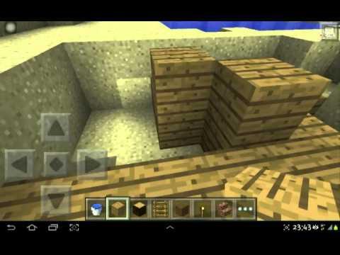 (Minecraft Pe) สอนสร้าง สระน้ำ Ep1 By Ft Ch