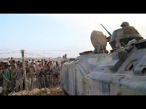Intensos combates en Siria, cerca de la frontera turca, contra los yihadistas del EI