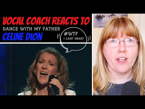 Vocal Coach Reacts to Celine Dion 'Dance with my father' #whatwentwrong