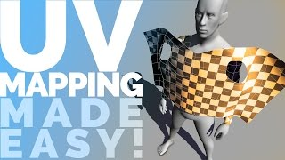 UV MAPPING MADE EASY! UV Unwrapping in Maya 2015 tutorial