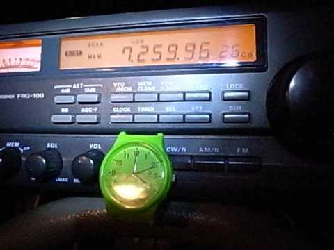 7260kHz Radio Vanuatu (18:59UTC, May 06, 2015)