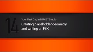 Placeholder geometry & writing an FBX tutorial