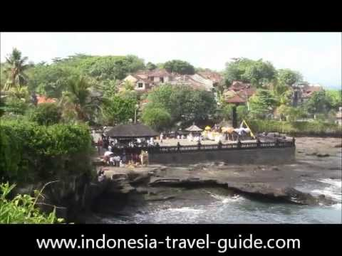 Indonesia Tourism @ Tanah Lot Temple - Bali