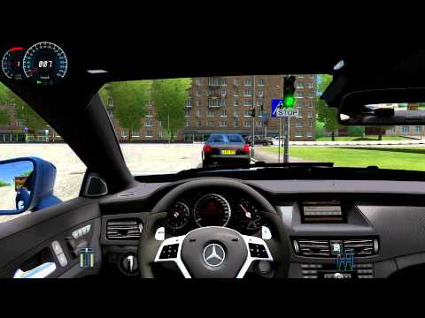 Mercedes-Benz CLS 63 AMG (City Car Driving) 1.3.3 HD G27
