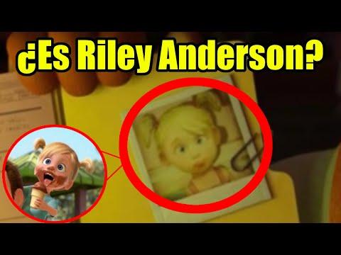 ¿Riley Anderson De Intensamente En Monster University? (Pixar)