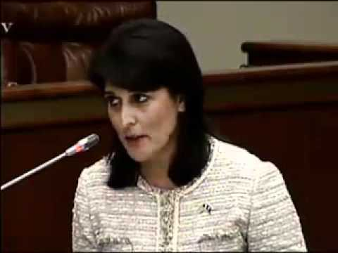 Haley says Rainey is a racist, sexist bigot