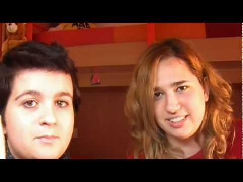video TRAGI-COMICO: hennè rosso su capelli neri