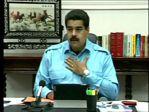 Maduro asegura que hallaron documentos