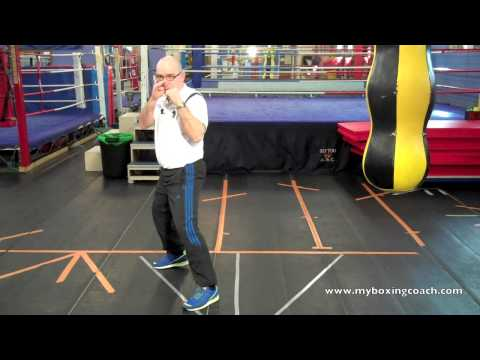 Boxing Footwork Explained - The Angled Side Step Image 1