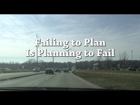 Planning to Fail is Failing to Plan Meaning Plan is Planning to Fail