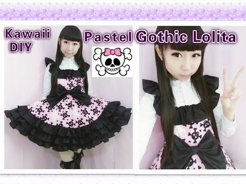 DIY: How To Sew A Sweet Lolita Dress ❤ (without A Pattern)