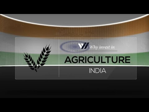 Agriculture  India - Why invest in 2015