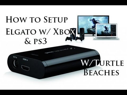 How to Setup Turtle Beach Headsets With Elgato Game Capture HD
