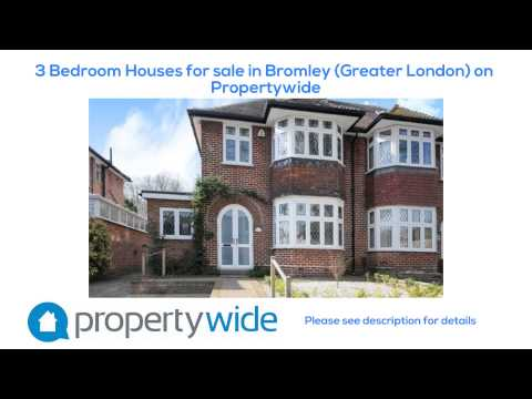 3 Bedroom Houses for sale in Bromley (Greater London) on Propertywide