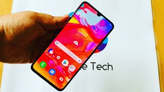 Galaxy A70 - Unboxing & Initial Review!