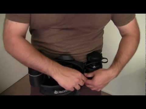 Carrying Concealed on the Trail with Outdoor Products Fanny Pack. Remora Holster. & Ruger SR9c