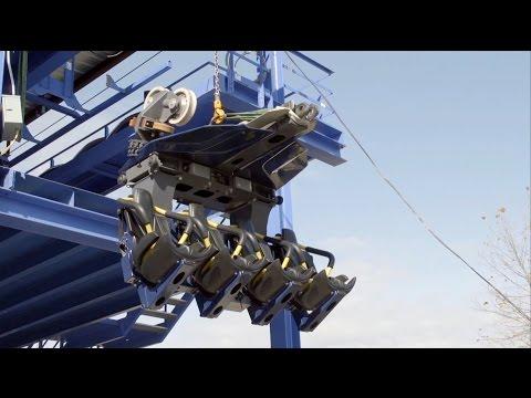 Kings Island Behind The Scenes Roller Coaster Winter Maintenance