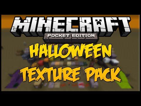 Paquete de Texturas de HALLOWEEN Minecraft PE 0.9.x 0.10.0