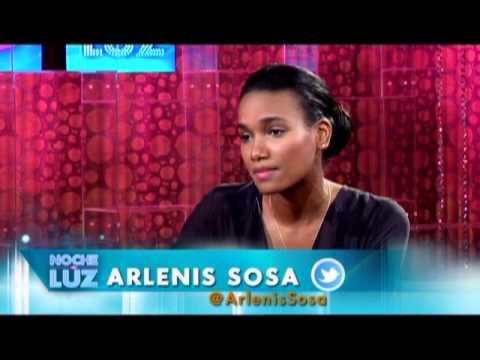 Arlenis Sosa y Luz Garcia Entrevista 1/2 @luzgarciatv Noche De Luz