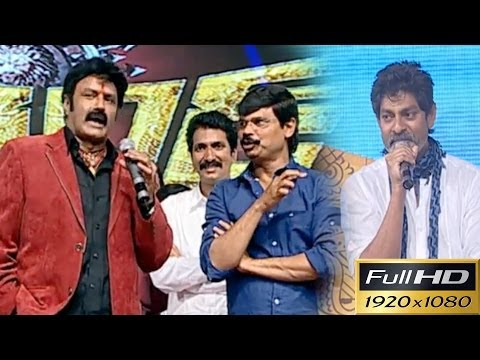 Balayya Jagapathi Boyapati Dialogues On Stage - Must Watch - Legend Audio Launch