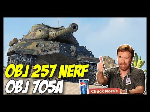 ► Object 257 Armor Nerf + Obj. 705A - World of Tanks Patch 9.22 Update