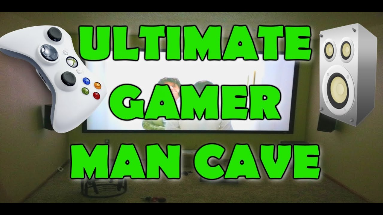 Man Cave Xbox : The ultimate gamer man cave su ur anlegend s setup video