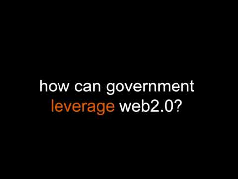 How can government leverage Web 2.0?