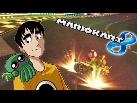 Chilled Throws Things (Mario Kart 8 Livestream Footage)