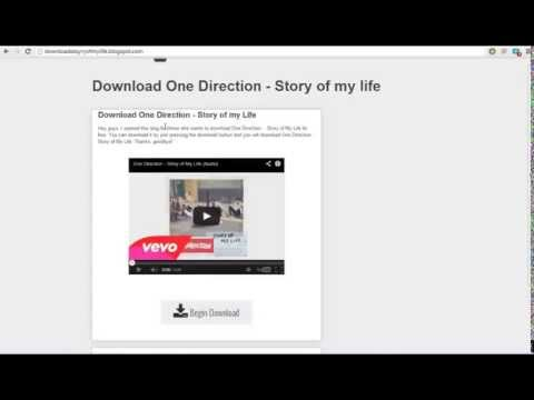 Download One Direction - Story of my life FOR FREE