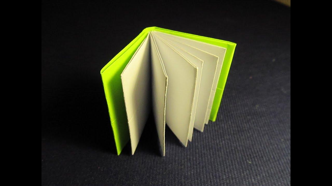 Как сделать из бумаги и клея блокнот