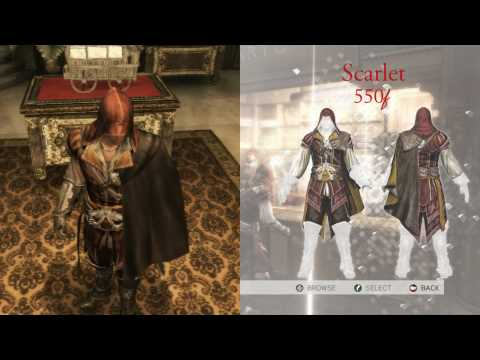 Assassins Creed 2: Clothes - Florence & Tuscany/Monteriggioni