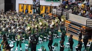 "NSU Spartan Legion 2017 performs ""Power"" Theme song"