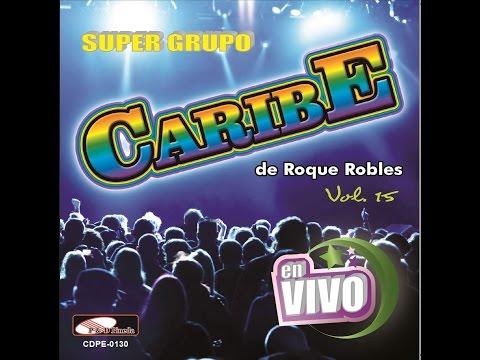 Super Grupo Caribe Ni Piedra Ni Madera,maria Candela,popurrí Bailando,para Arriba Para Abajo video