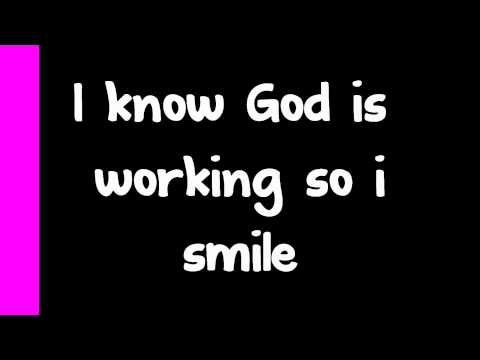Kirk Franklin - I Smile Lyrics video