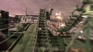 Space Mountain Lights On Ride Through - Walt Disney World