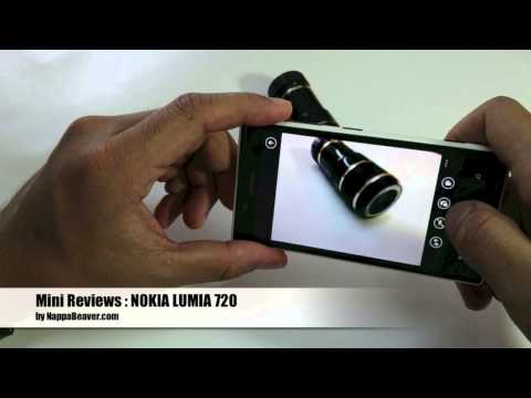 MINI REVIEWS NOKIA LUMIA 720 THAI by NO