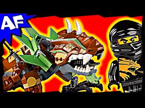 EARTH DRAGON Defense  - Lego Ninjago Set 2509 Animated Building Review