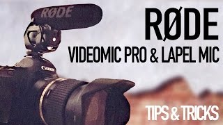 Equipment to improve your sound [Rode Videomic Pro + smartLav+]