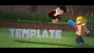 FREE Amazing 3D Minecraft Intro Template After Effects & Cinema 4D #5