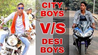 City Boys vs Desi Boys | Funny Video | G-STAR TV | Gulshan singh gstar | Republic Day special
