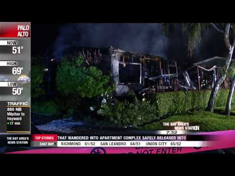 Two Confirmed Dead in Sunnyvale Mobile Home Fire