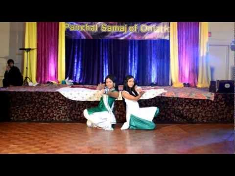 Diwali Dance - Priya And Anisha 2012 video
