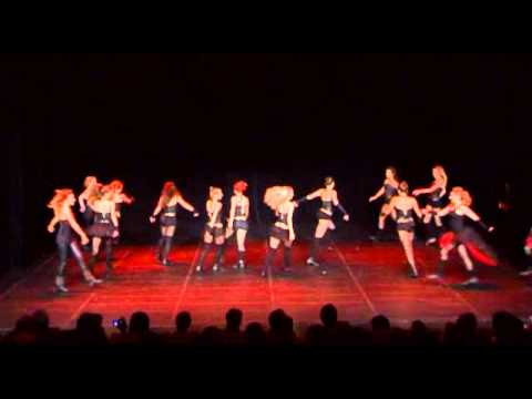 Show Me How You Burlesque, choreographed by Tamara Berec