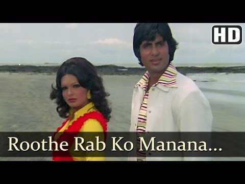 Roothe Rab Ko - Amitabh Bachchan - Praveen Babi - Majboor - Kishore - Asha Bhosle - Hindi Song video