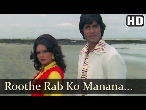 Roothe Rab Ko - Amitabh Bachchan - Praveen Babi - Majboor - Kishore - Asha Bhosle - Hindi Song video
