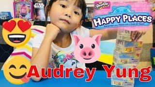 SHOPKINS: Happy Places Petkins Surprise Blind Bags with Popette Shoppies by Audrey Yung (01847)