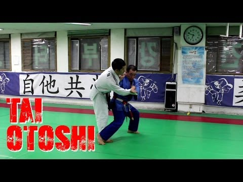 Tai Otoshi by 7th Dan Korean Master (빗당겨치기) Image 1