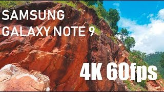 Samsung Galaxy Note 9 cinematic 4k 60fps video || NATURE 4K