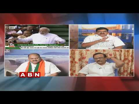Debate | EC Wants Aadhaar Linking Mandatory With Voter ID Cards | Public Point | Part 1 ABN Telugu